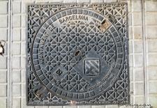 Barcelona Manhole Covers